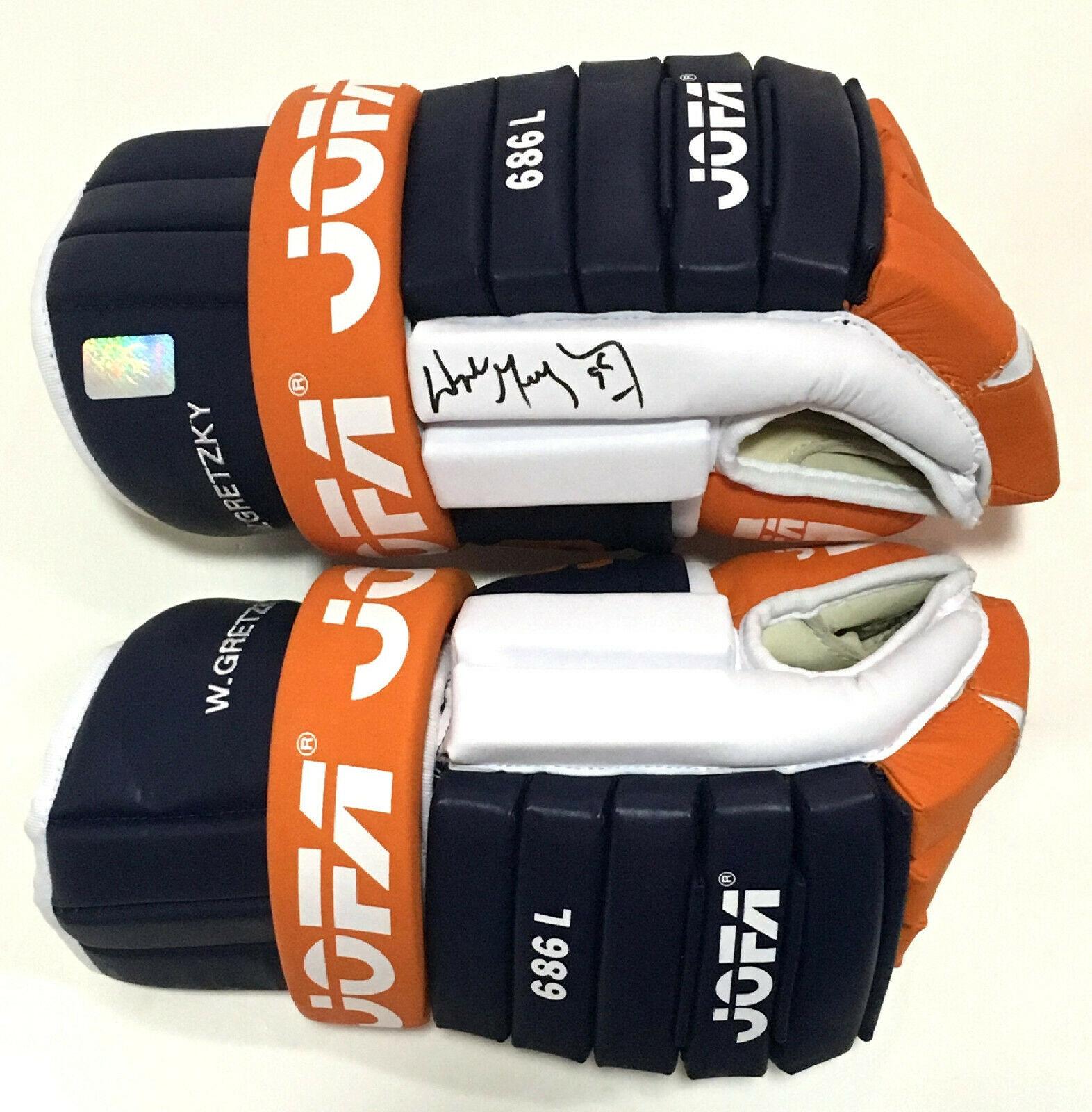 Wayne Gretzky signed JOFA 686 L 1987 Oilers hockey glove mint auto HOF WGA COA