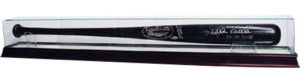 Cherry Wood Baseball Bat Display Case
