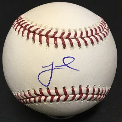 Jeff McNeil signed official MLB Baseball Mets Rookie Autograph Fanatics COA