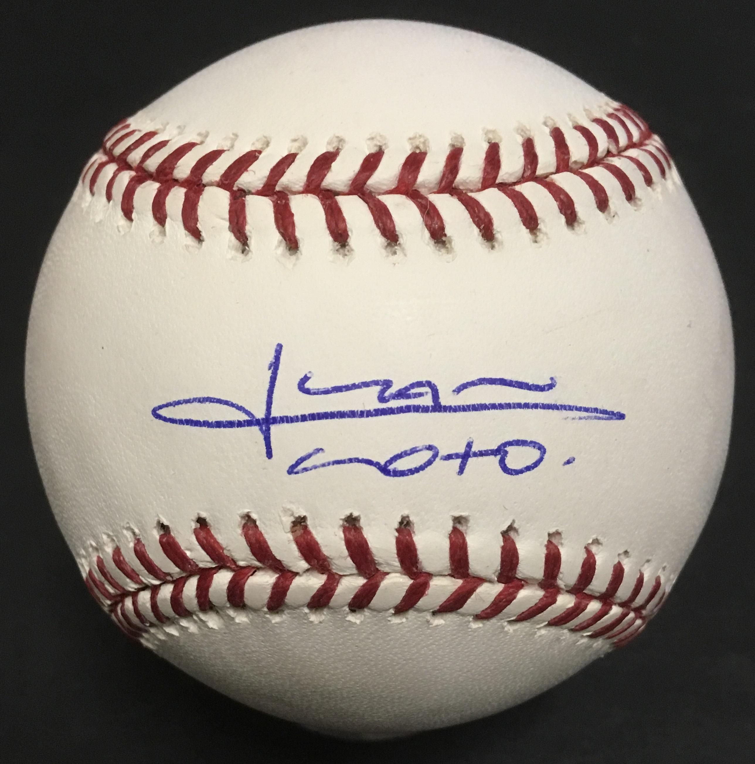 Juan Soto Nationals signed Official MLB Baseball mint autograph Fanatics COA