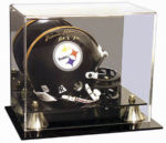 mini football helmet display case