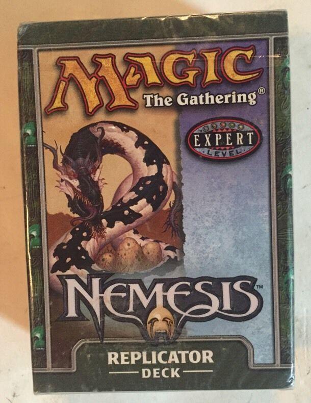 MTG Magic The Gathering Nemesis REPLICATOR Deck Factory Sealed New