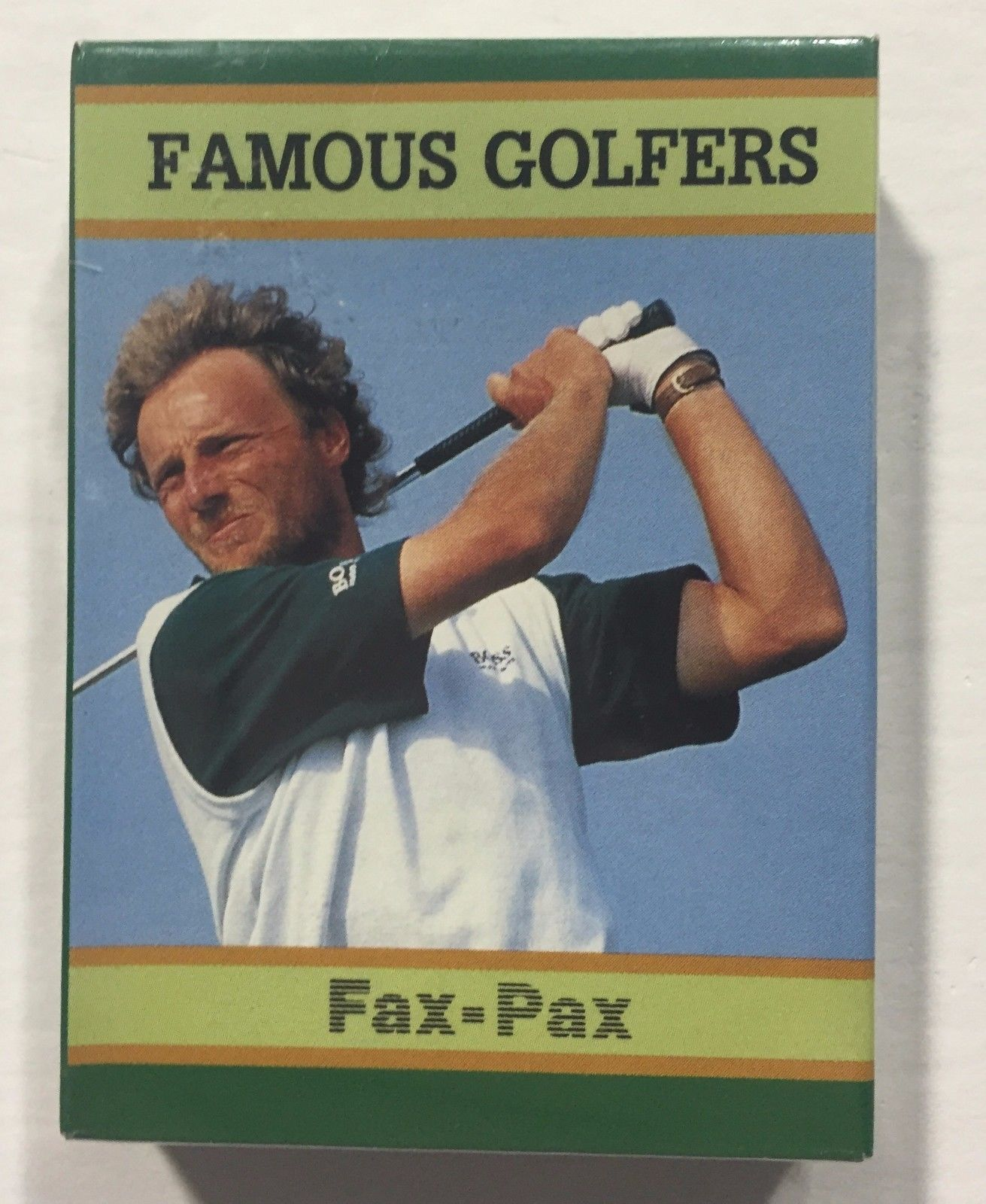 1993 Famous Golfers Fax Pax Factory Sealed 40 Card golf Set Nicklaus Palmer Mint