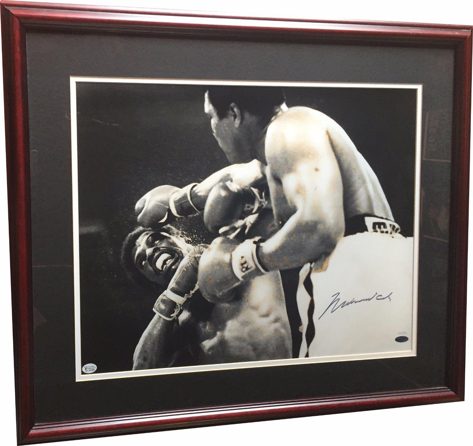 Muhammad Ali Signed 16×20 Framed Photo Vs. Spinks LE /50 Steiner COA Auto