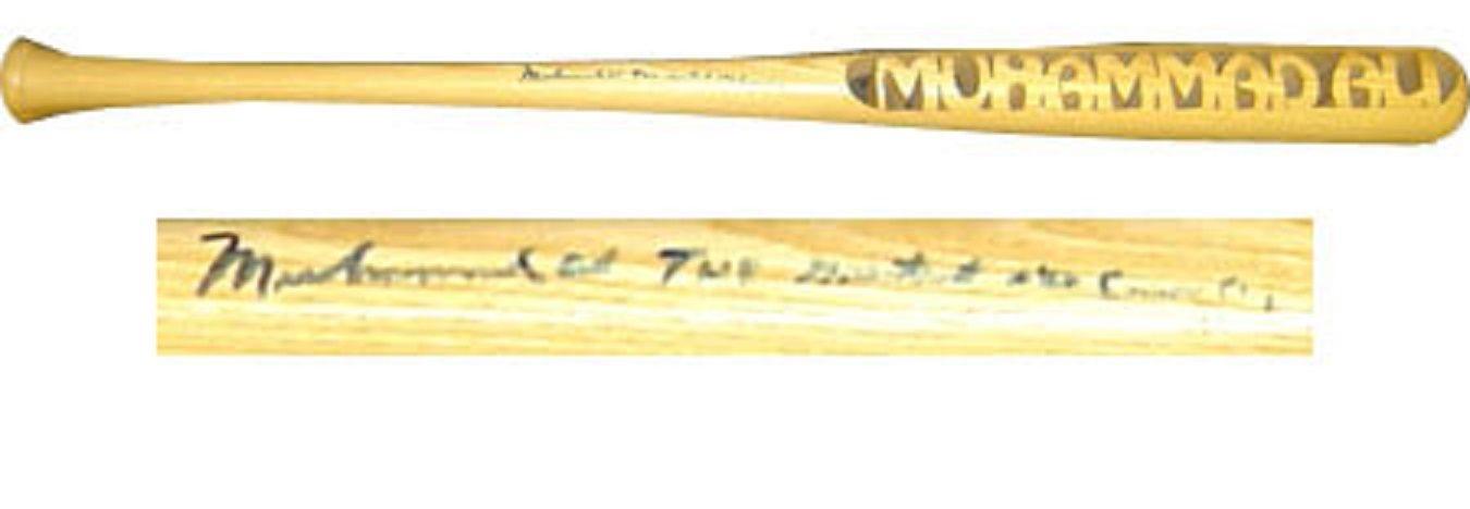 Muhammad Ali signed bat autograph INS The greatest AKA Cassius Clay JSA COA RARE