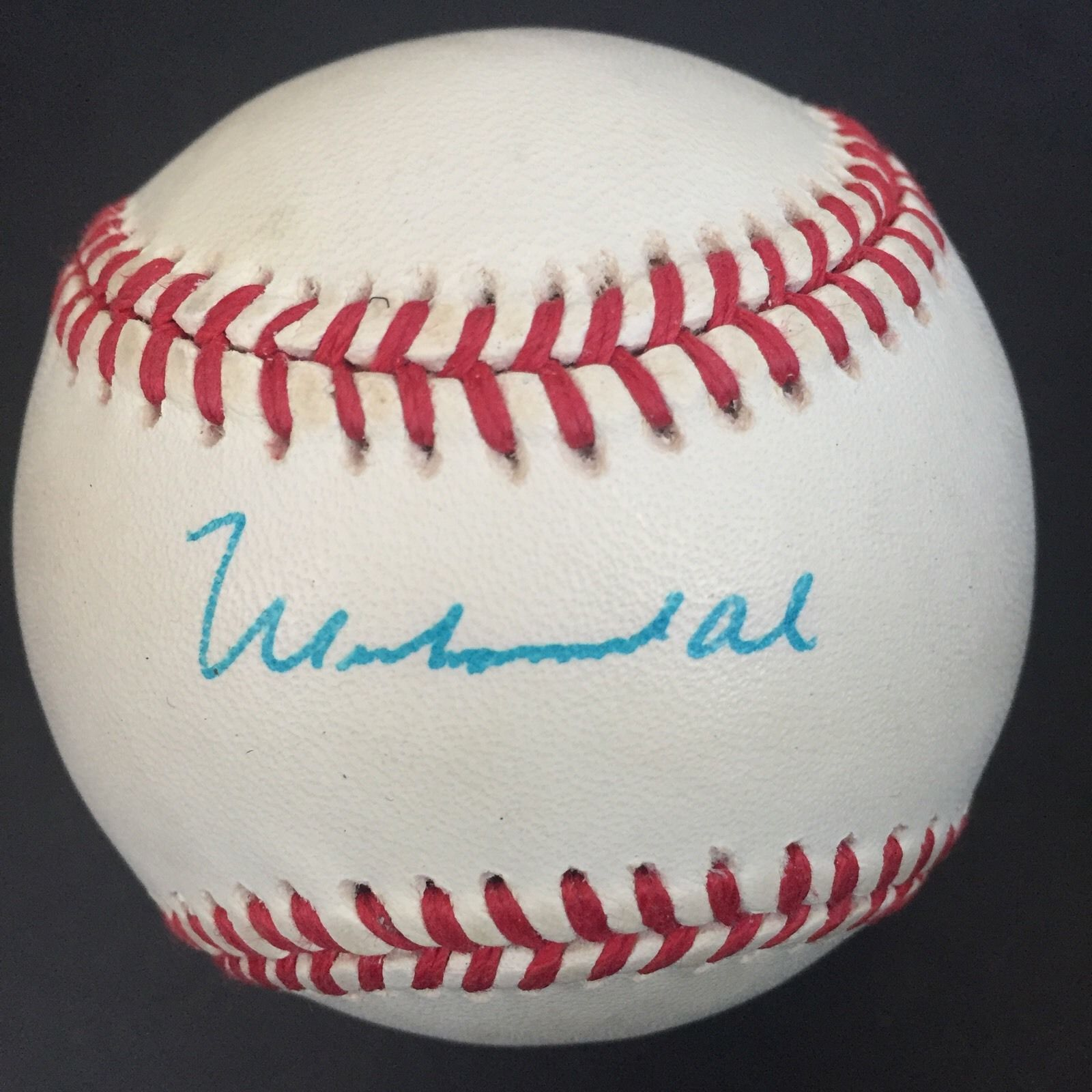 Muhammad Ali Signed Official AL Baseball Boxing Mint Autograph Jsa Loa boxer