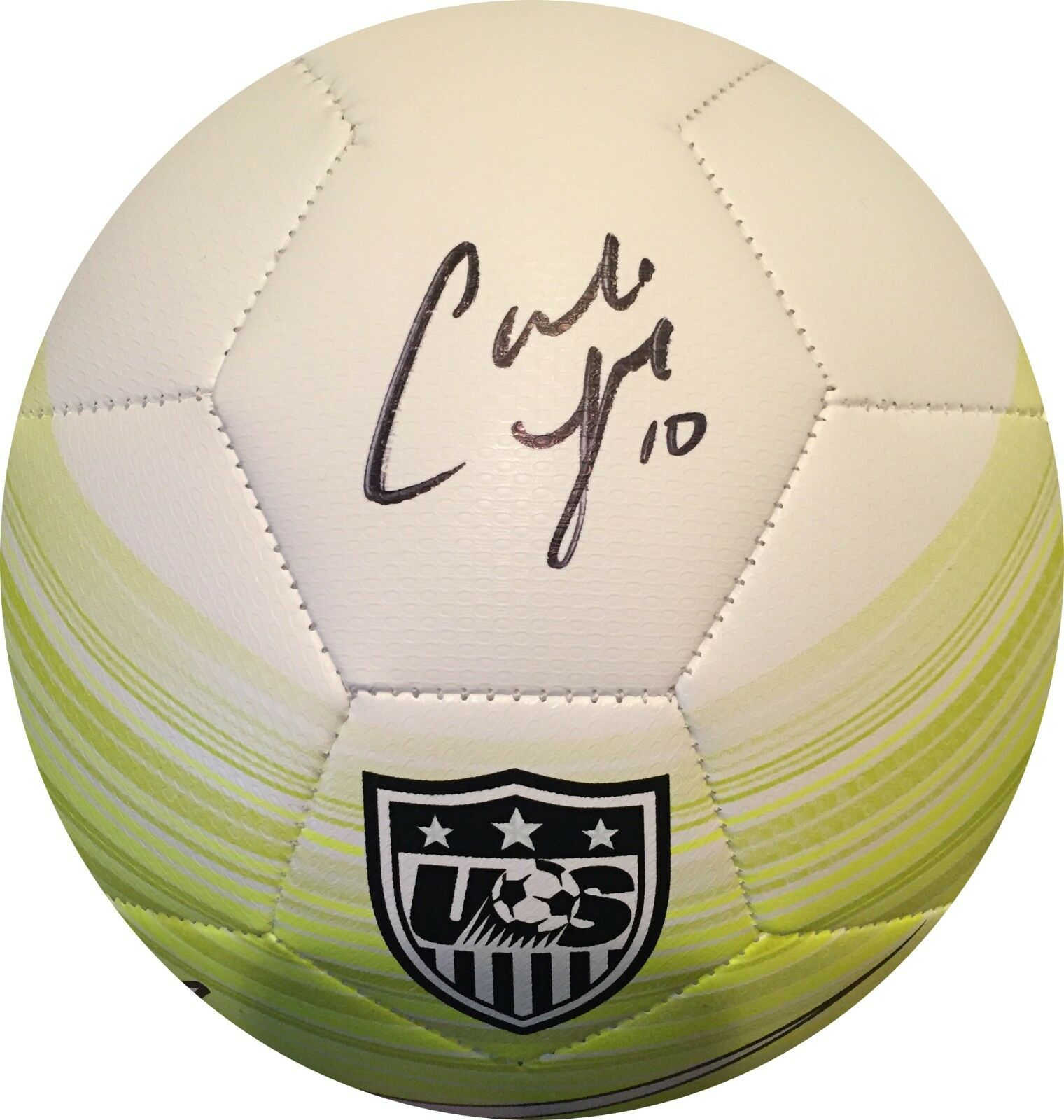 Carli Lloyd Signed USA Nike Soccer Ball Womens World Cup Auto GTSM Hologram