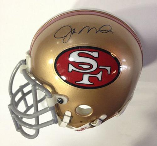 Joe Montana Signed Authentic Pro Mini Helmet Niners Steiner COA 49ers AUTOGRAPH