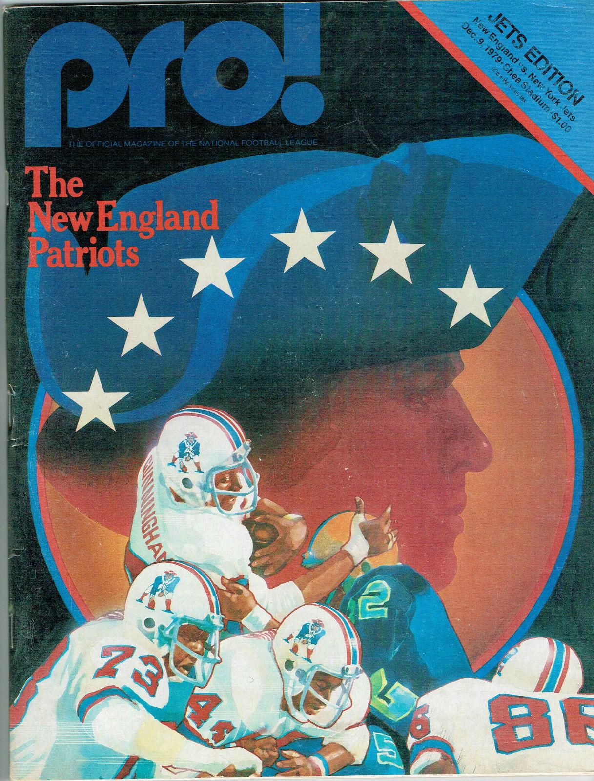 1979 PRO! Magazine New England Patriots and New York Jets