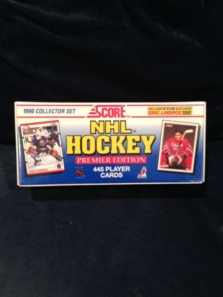 1990 Score Hockey Factory Set Sealed Brodeur Rookie mike Richter r.c