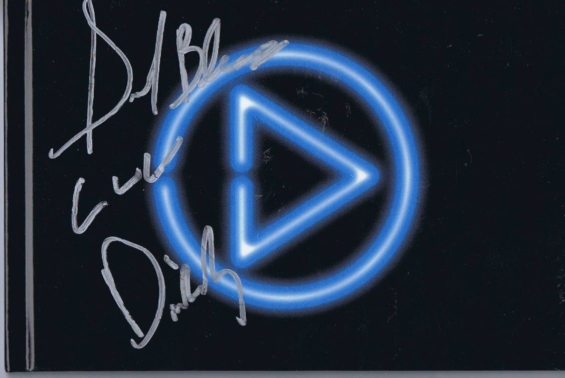 P Diddy Sean Puffy Combs Signed Press Play Album Book Cover 2006 COA