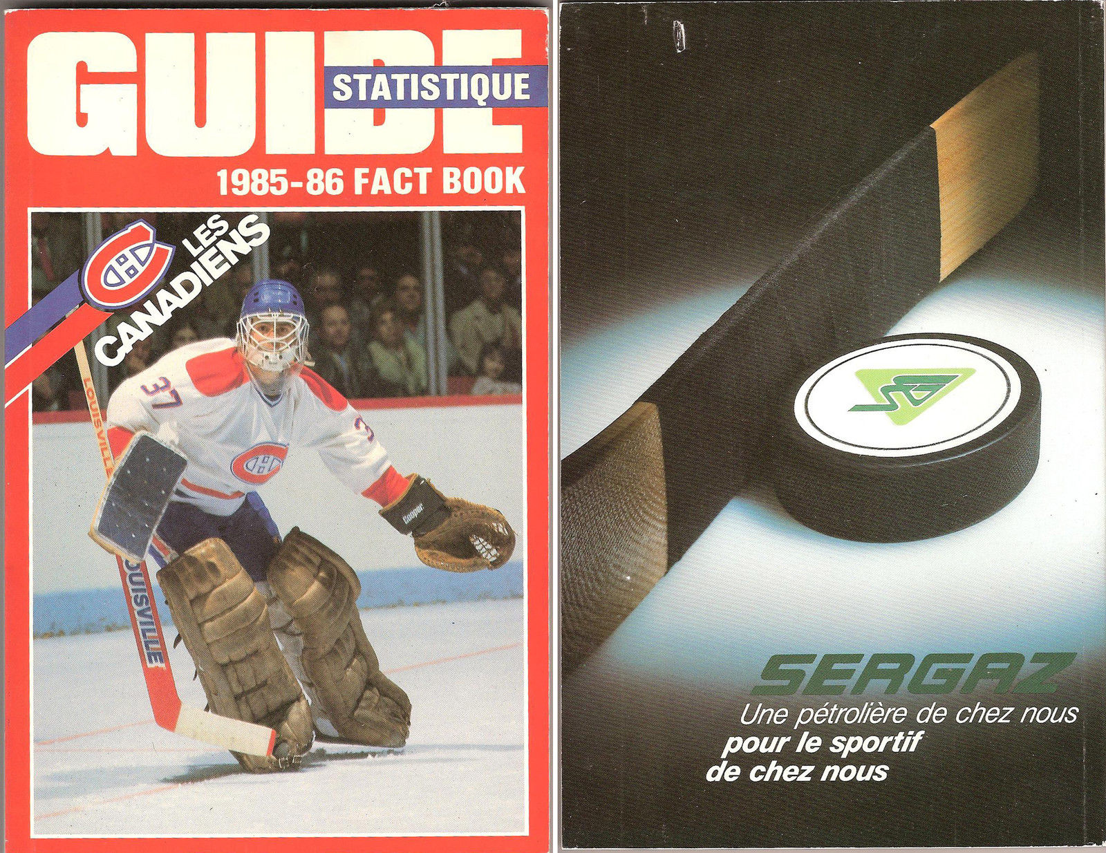 Rare 1985-86 Montreal Canadiens Patrick Roy Rookie Year Media Guide