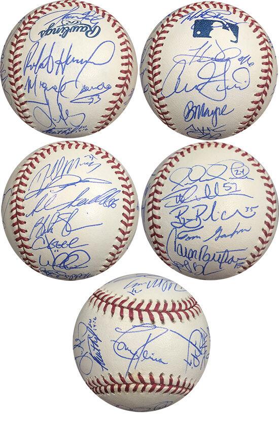 2002 Kansas City Royals Team Signed Baseball 25 Auto Beltran Sweeney Randa COA