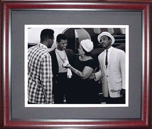 Muhammad Ali Signed Cassius Clay 11×14 Photo rare auto Proof pics coa LE /100