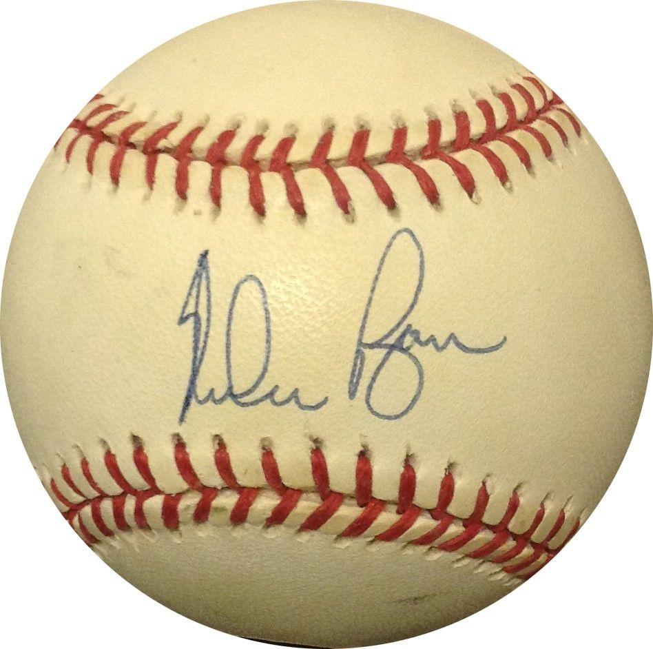 Nolan Ryan Signed Official AL Baseball Bold Auto w/ Case CBM Holo & COA