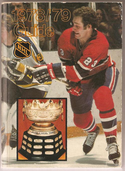 1978/79 NHL Media Guide Bob Gainey Canadiens