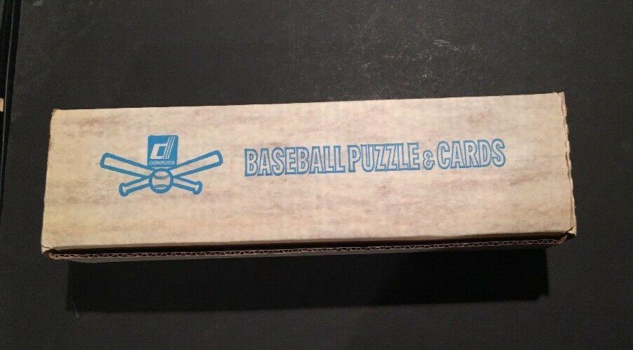 1983 Donruss Factory Sealed Complete Baseball Card Set Gwynn Sandberg RC Mint +
