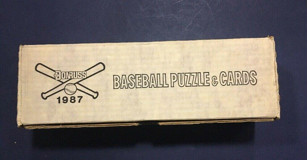 1987 Donruss Factory Sealed Complete Baseball Card Set Barry Bonds Maddux Rc MT