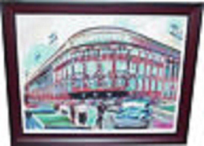 Ebbets Field Brooklyn Dodgers Giclee Canvas Artwork
