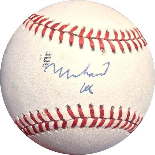Muhammad Ali single Official nl Baseball Boxing Autograph PSA dna coa rare