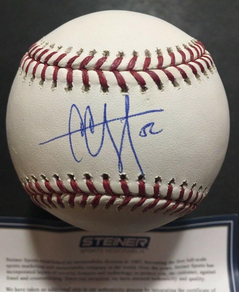 CC SABATHIA Signed Mlb Baseball Gem Mint Autograph Steiner Coa 3000 K's Yankees