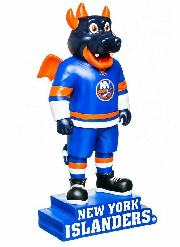 New York Islanders Indoor Outdoor 12″ Resin Sparky Mascot Statue NHL