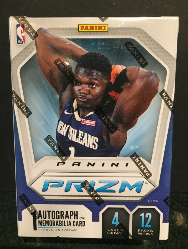 2019-20 Prizm Basketball Box Factory Fanatics Green Ice Exclusive Zion Rc