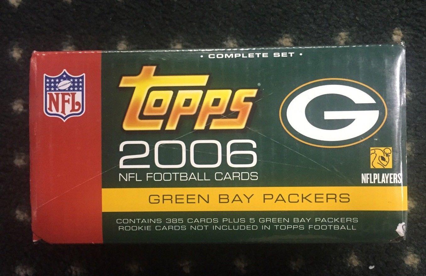 2006 Topps Football complete Factory Set Packers 385 Card Sealed Set Bonus Pack