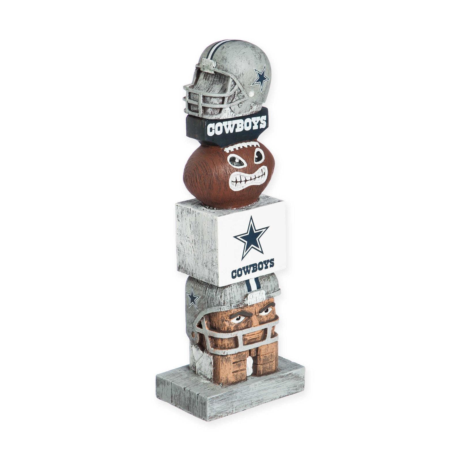 Dallas Cowboys NFL Tiki Totem Lawn Garden Statue all weather Dak Prescott
