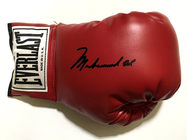 Muhammad Ali Signed Everlast Boxing Glove bold Gem Mint 10 Autograph Jsa Loa