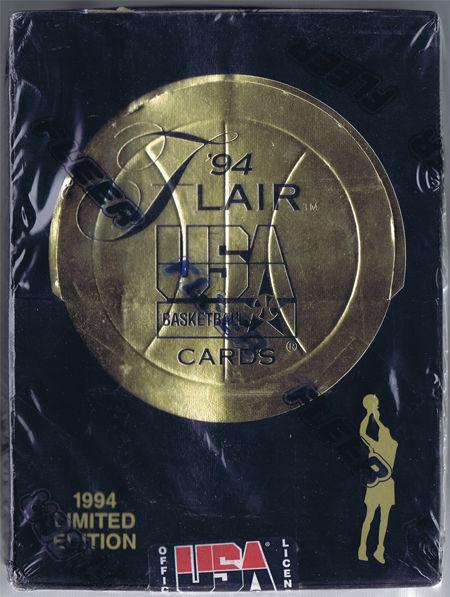 1994 Flair Basketball Team USA Dream Team Sealed Box