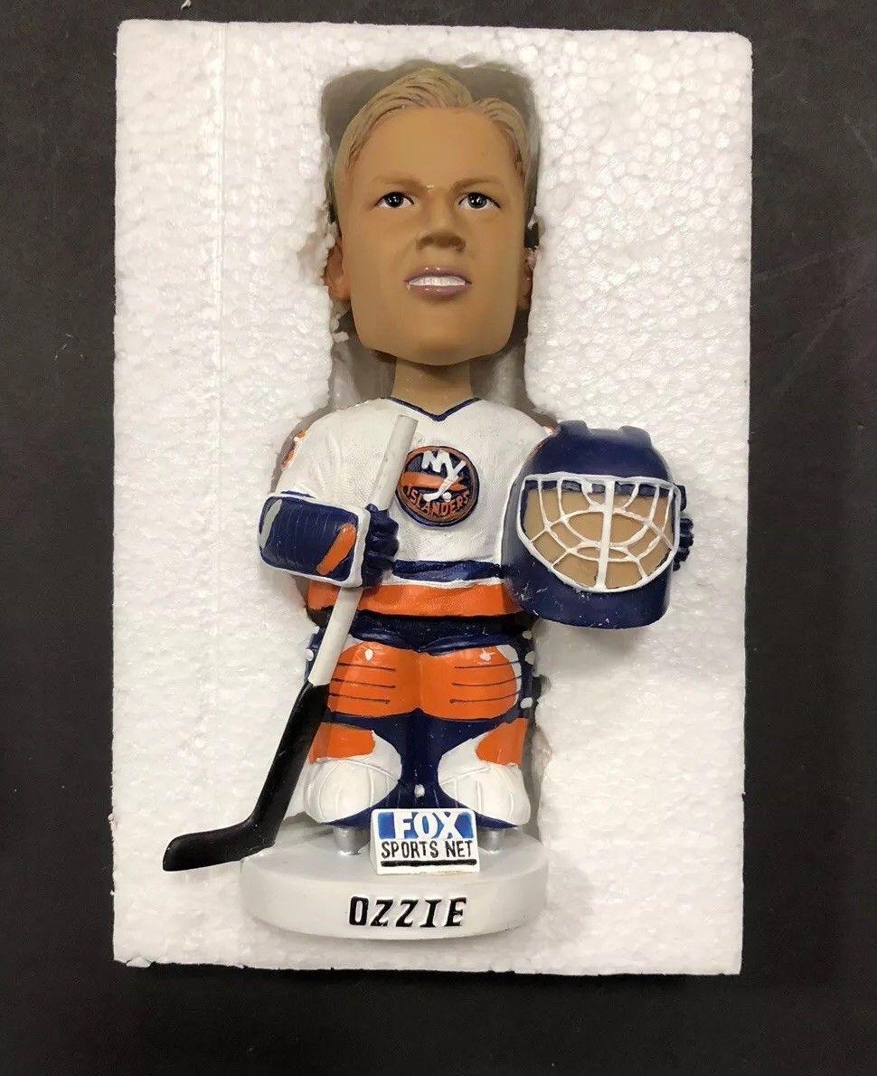 Chris Osgood ozzie New York Islanders Goalie Bobble head 3x Cup Winner SGA NEW